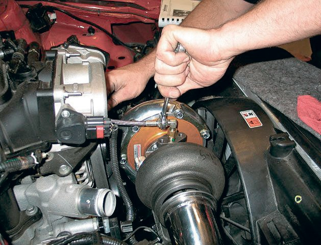Замена турбины авто